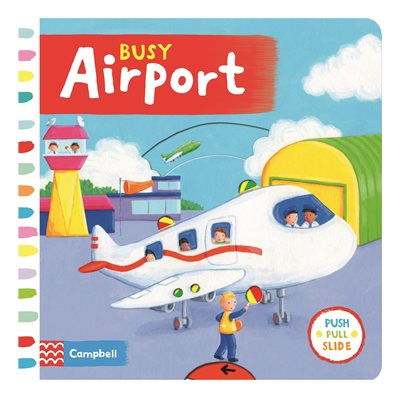 Book cover for Busy Airport